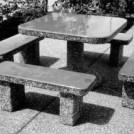 Stalas ir suolai
