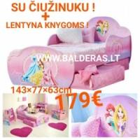 """Nauja vaikiška lovytė su stalčiais """"Princesė"""""""